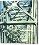 Arkansas Side Of Helena Bridge 1 Canvas Print