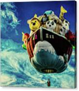 Arky  Noah's Ark Canvas Print