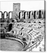Arles Amphitheater A Roman Arena In Arles - France - C 1929 Canvas Print