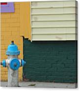 Arlington Hydrant Canvas Print