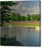 Arlington Memorial Gardens Canvas Print