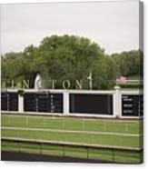 Arlington Park Race Track Canvas Print