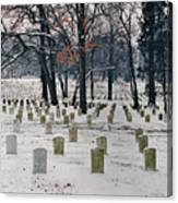 Arlington Winter Snow Canvas Print
