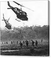 Army Airborne In Vietnam Canvas Print