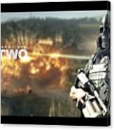 Army Of Two Canvas Print