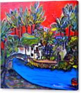 Arneson Theater II Canvas Print