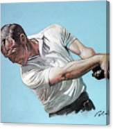 Arnold Palmer- The King Canvas Print