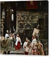 Arnosa Choirboys Canvas Print