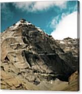 Around Holy Kailas Himalayas Tibet Yantra.lv Canvas Print