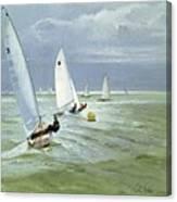 Around The Buoy Canvas Print