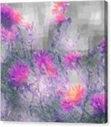 Arrangement In Plaid Canvas Print
