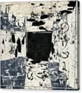 Arrhythmic Number Three Canvas Print