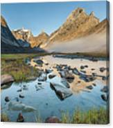 Arrigetch Valley Canvas Print