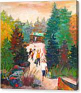 Arrivals Canvas Print