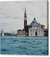 Arriving In Venice Canvas Print