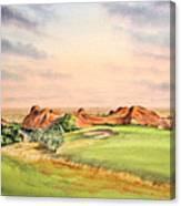 Arrowhead Golf Course Colorado Hole 3 Canvas Print