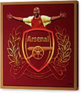 Arsenal London Painting Canvas Print