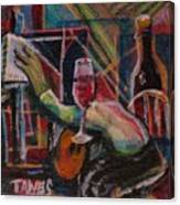 Art At Work Canvas Print