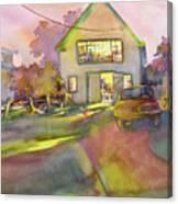 Art Barn, Port Clyde Canvas Print
