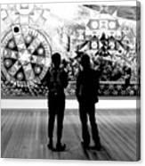 Art Critics Canvas Print