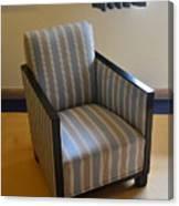 Art Deco Chair Canvas Print