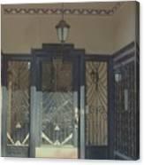 Art Deco Door Canvas Print