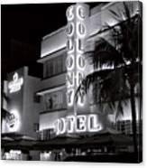 Art Deco Miami Beach Canvas Print