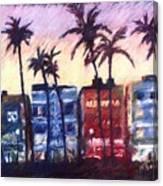 Art Deco Miami Canvas Print