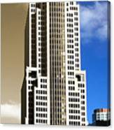 Art Deco Nbc Tower Canvas Print