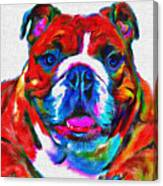 Art Dogportrait Canvas Print