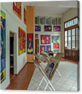 Art Gallery In Havana Canvas Print