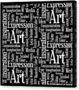 Art Idea Inspiration Canvas Print