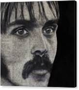 Art In The News 95-steve Prefontaine Canvas Print