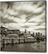 Art Museum Time Exposer Canvas Print