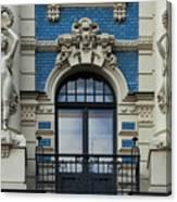 Art Nouveau In Riga Canvas Print