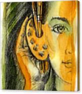 Art Of Listening Canvas Print