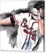 Art Of The Braves Canvas Print
