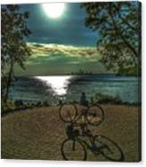 Art Of The Morning Sun Canvas Print