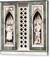 Art On Duomo In Florence Italy Canvas Print