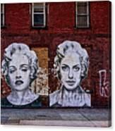 Art On The Street Canvas Print