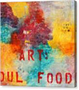 Art Soul Food 2 Canvas Print