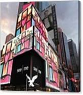 Art Takes Times Square Canvas Print