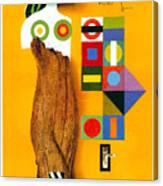 Art Today - London Underground, London Metro - Retro Travel Poster - Vintage Poster Canvas Print