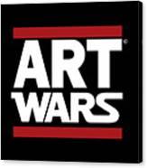Art Wars Canvas Print