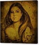Artemis Who Canvas Print