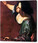 Artemisia Gentileschi Canvas Print