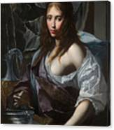Artemisia Prepares To Drink The Ashes Of Her Husband Mausolus    Canvas Print