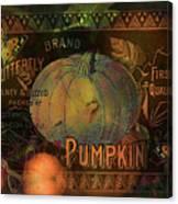 Artful Pumpkins Canvas Print