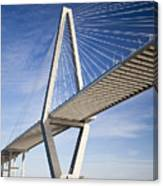 Arthur Ravenel Jr. Bridge In Charleston South Carolina Canvas Print