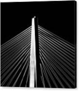 Arthur Ravenel Jr. Bridge Lines Canvas Print